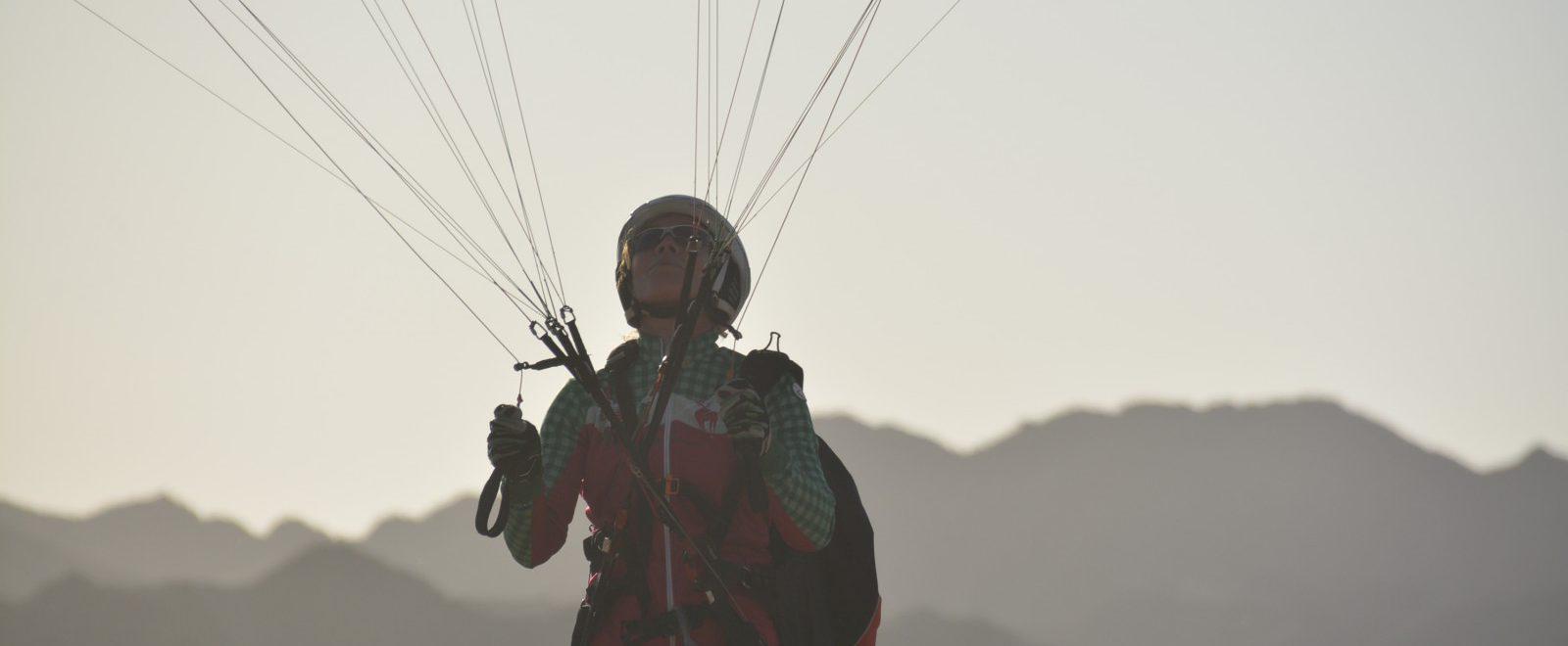 Angelika Hampe Tandem Paragliding Lake Garda