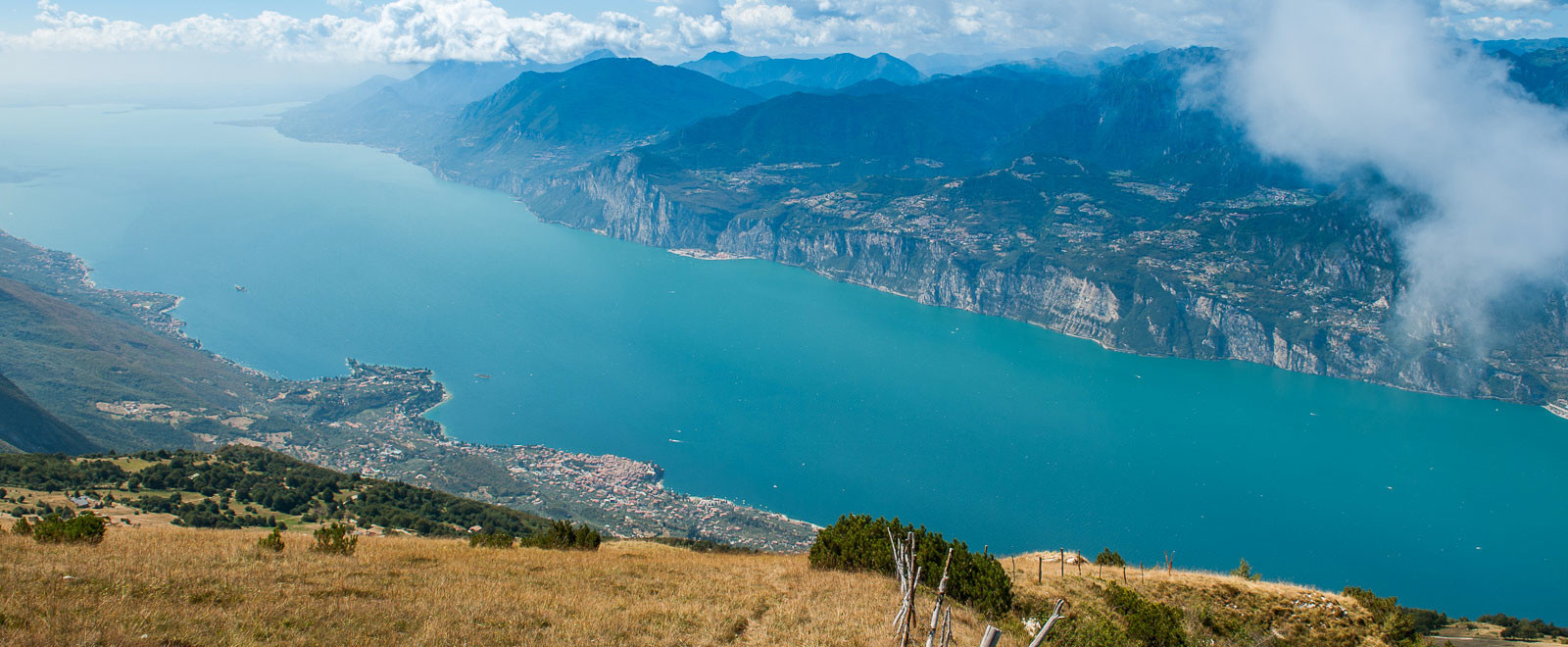 lake garda from monte baldo